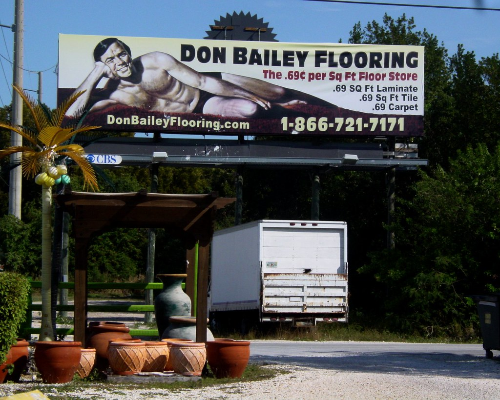 Awesome ... Actual Billboard In Key Largo | By Posixeleni