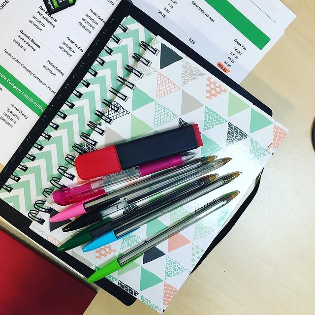 I wouldn't say I'm obsessive planner... but... #planner #plannerjoy #lists