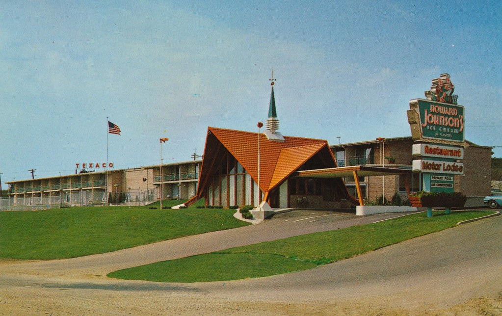 Howard Johnson's Motor Lodge - Madison, Wisconsin