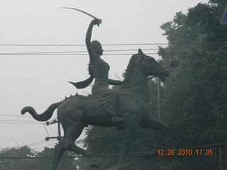 Jhansi ki Rani Statue: Agra City | by Indian Luxury Trains