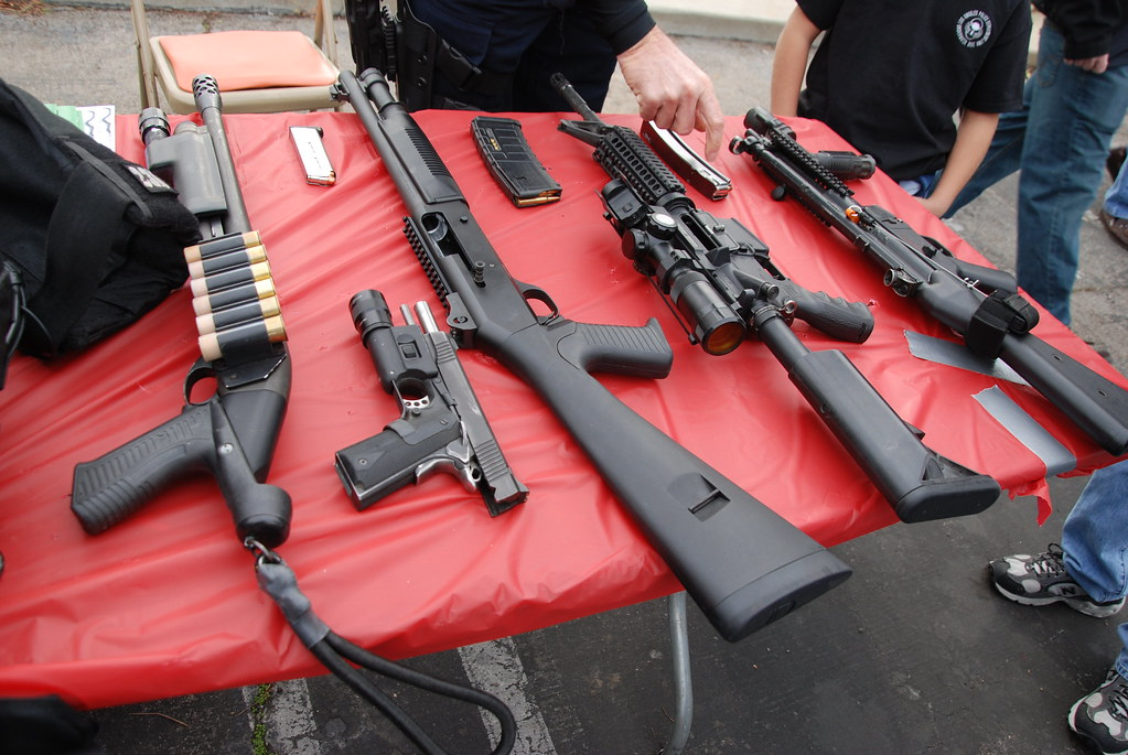 Los Angeles Police Department Lapd Swat Weapons Navymailman Flickr
