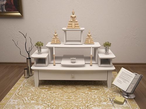ชุดโต๊ะหมู่บูชา3 5 สีขาว สวยทันสมัย Modern ขนาดเล็ก Flickr