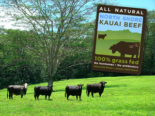 North Shore Kauai Beef Stickers | by teamstickergiant