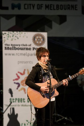 Melbourne's Best Busker 2010 | by jenny.biddle