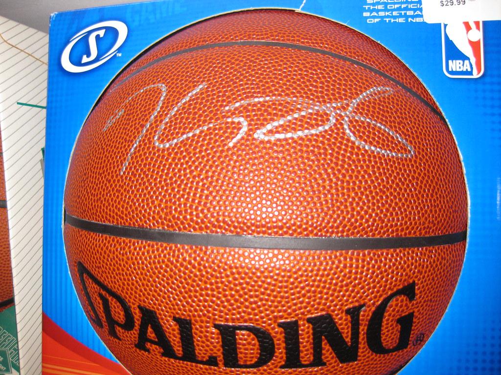 super popular d2789 1d0e7 Kevin Durant autographed basketball | Kevin Durant autograph ...