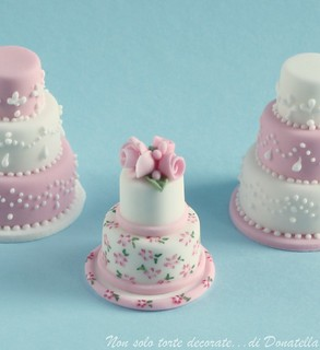 Miniature wedding cakes...again :) | by semalo63