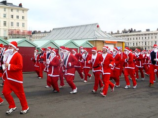 Santa Dash 2010 | by Fyre-bird