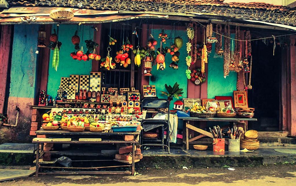 Sawantwadi Market This Small Market In Sawantwadi Maharas Flickr