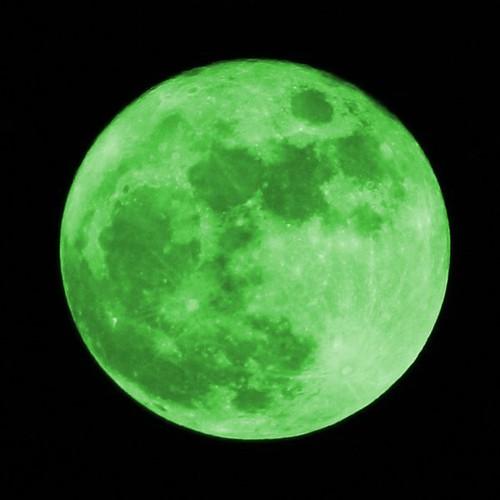 Grüner Mond