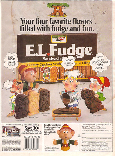 1989 Keebler E.L. Fudge Cookies Newspaper Coupon Ad Offer Ernie | by gregg_koenig