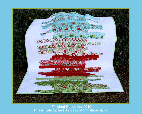 Kate Spain S 12 Days Of Christmas Quilt Kate Spain S 12