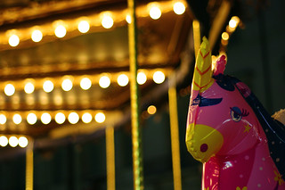 The sad unicorn and the carousel... | by Steven&K20D