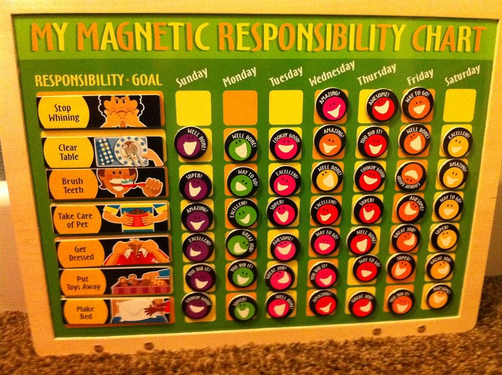 My Responsibility Chart: responsibility chart | jencu | Flickr,Chart