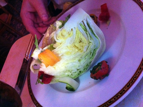 Nouveau Steakhouse - Heart of Iceberg Salad | by Miss Shari
