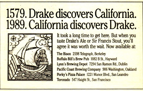 Early Ad | by Drake's Brewing Company