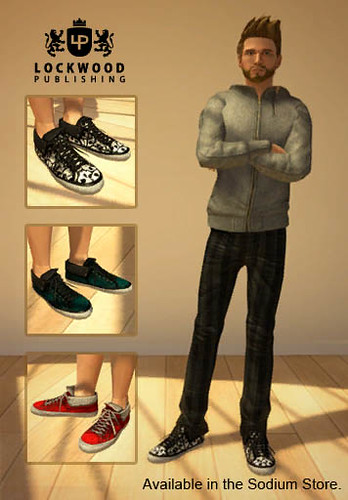 PlayStation Home: Lockwood Folded Sneakers | by PlayStation.Blog