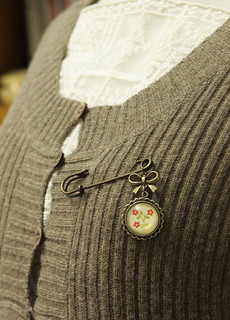 handmade brooch | by cottonblue