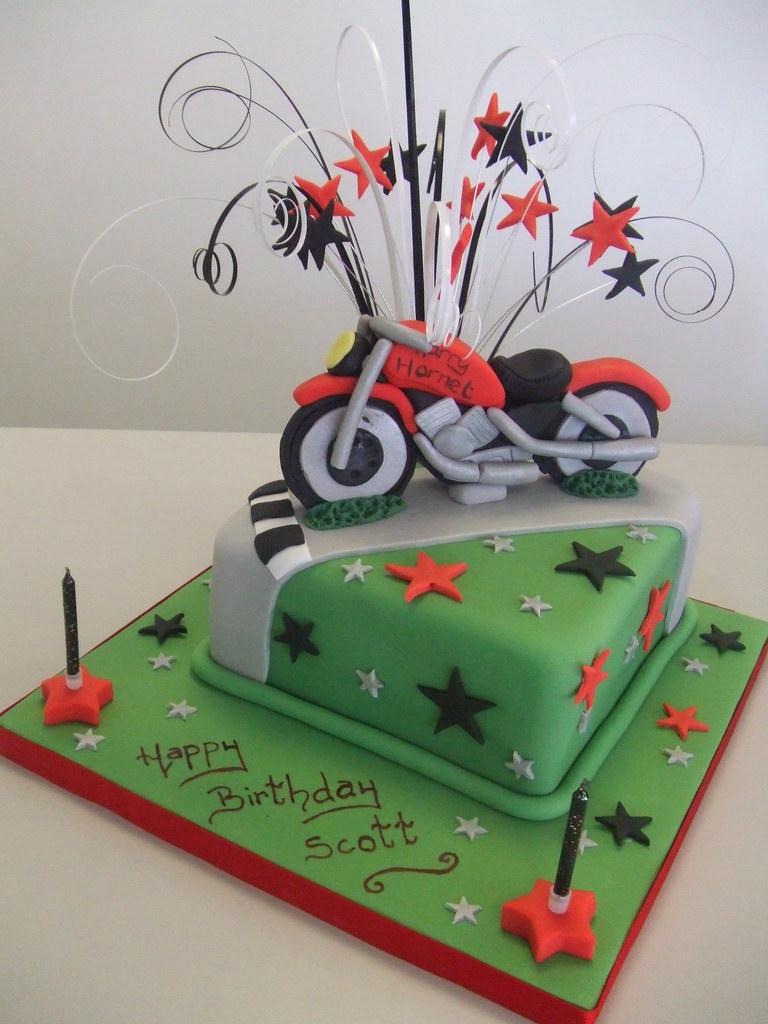 CAKE Motorbike theme Jules enquiriescakechestercouk Flickr
