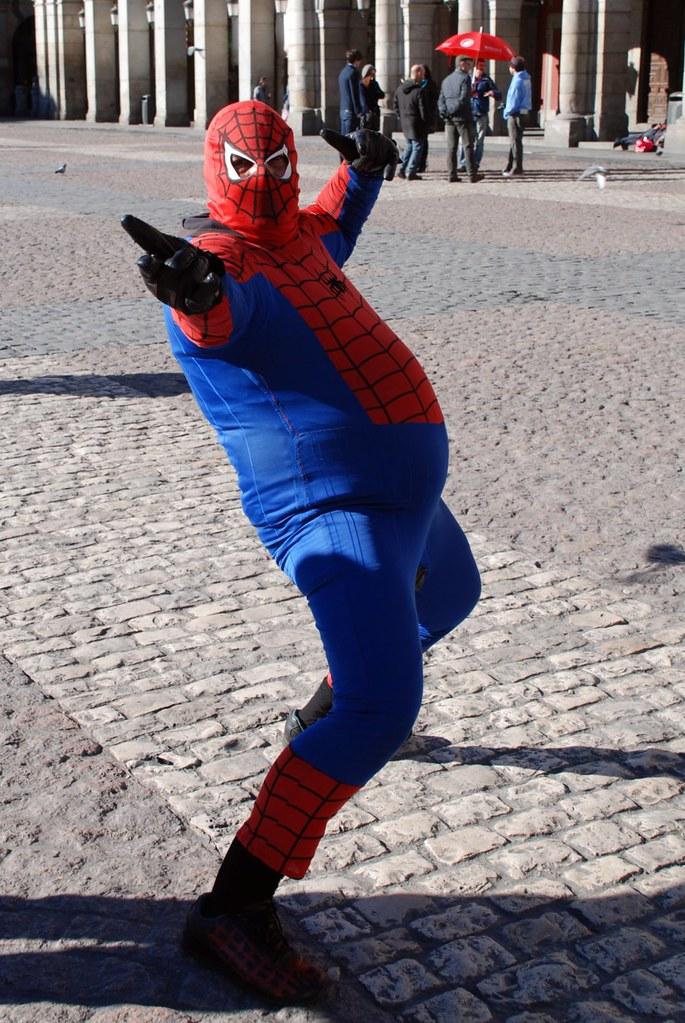 Днем, картинки смешной человек паук