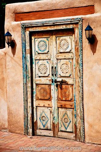 Sante Fe New Mexico >> Carved door, Santa Fe, New Mexico | Carved door in Santa FE,… | Flickr