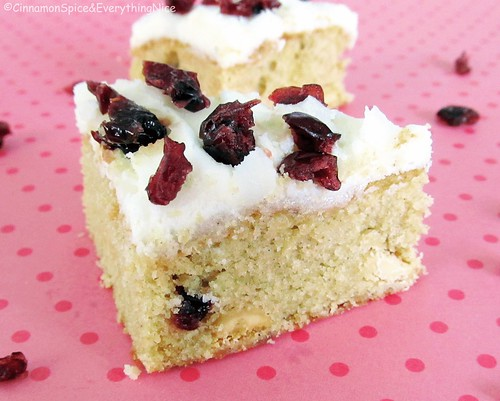 Starbucks Cranberry Bliss Bars | by CinnamonKitchn