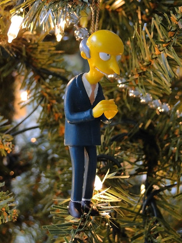 simpsons holiday ornament: mr. burns (2002) | by j_pidgeon