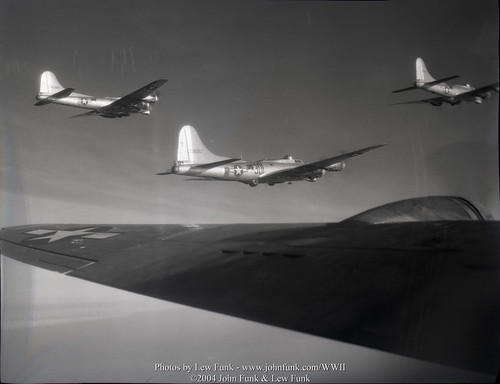 B-17s on Mission to Stendal Germany 14 Jan 1945 | by John Funk from Golden Colorado