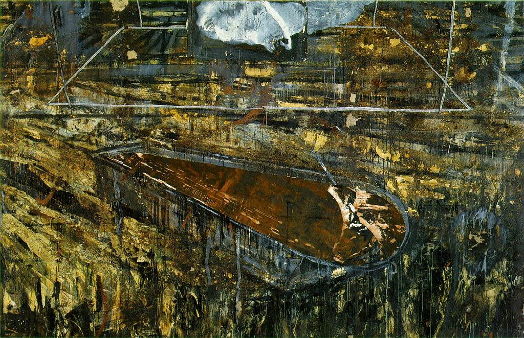 Kiefer, Anselm (1945- ) - 1984-85 The Red Sea (Museum of M… | Flickr