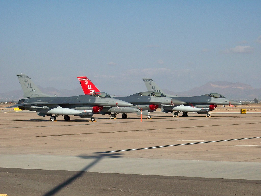 187th Fighter Wing General Dynamics F-16 Fighting Falcon
