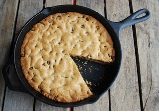 Choc Chip Cookie Cast Iron Skillet 3 | by firefly64