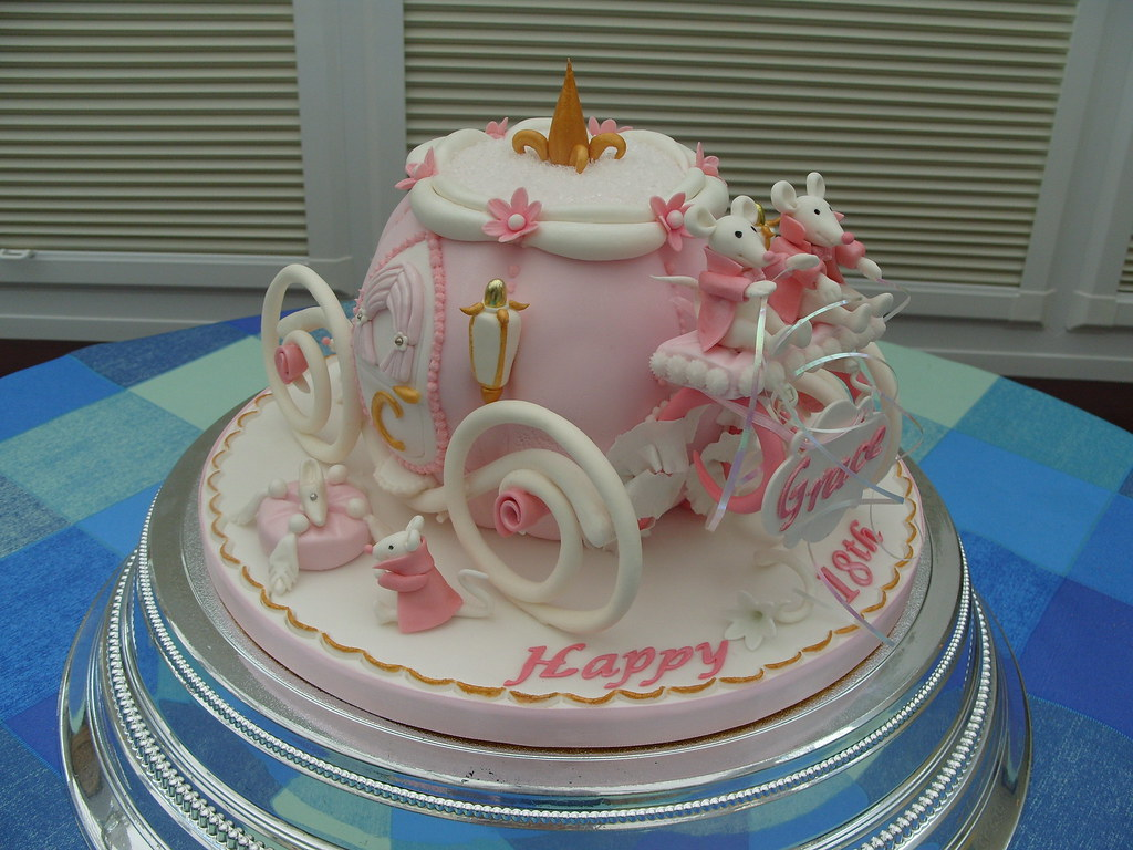 Cinderella Carriage Cake3 Cindarellas Mouse Carriage c Flickr