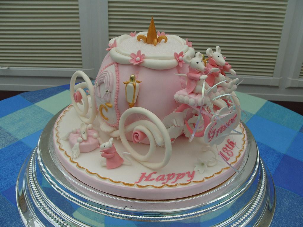 Cinderella Carriage Cake3 Cindarellas Mouse Carriage c Flickr