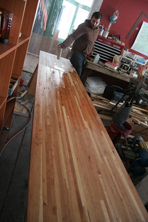 finishing the countertop | by elizajanecurtis