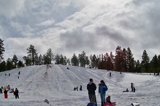 Snow Play at Wing Mountain near Flagstaff, AZ | by camprrm