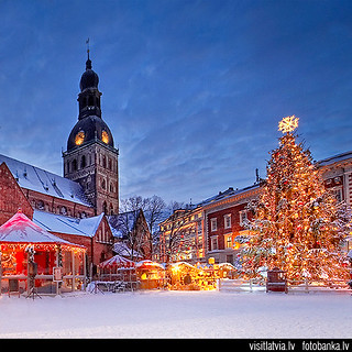 Old Riga, Dome square, Latvia | by Latvia (www.visitlatvia.lv, tourism website)