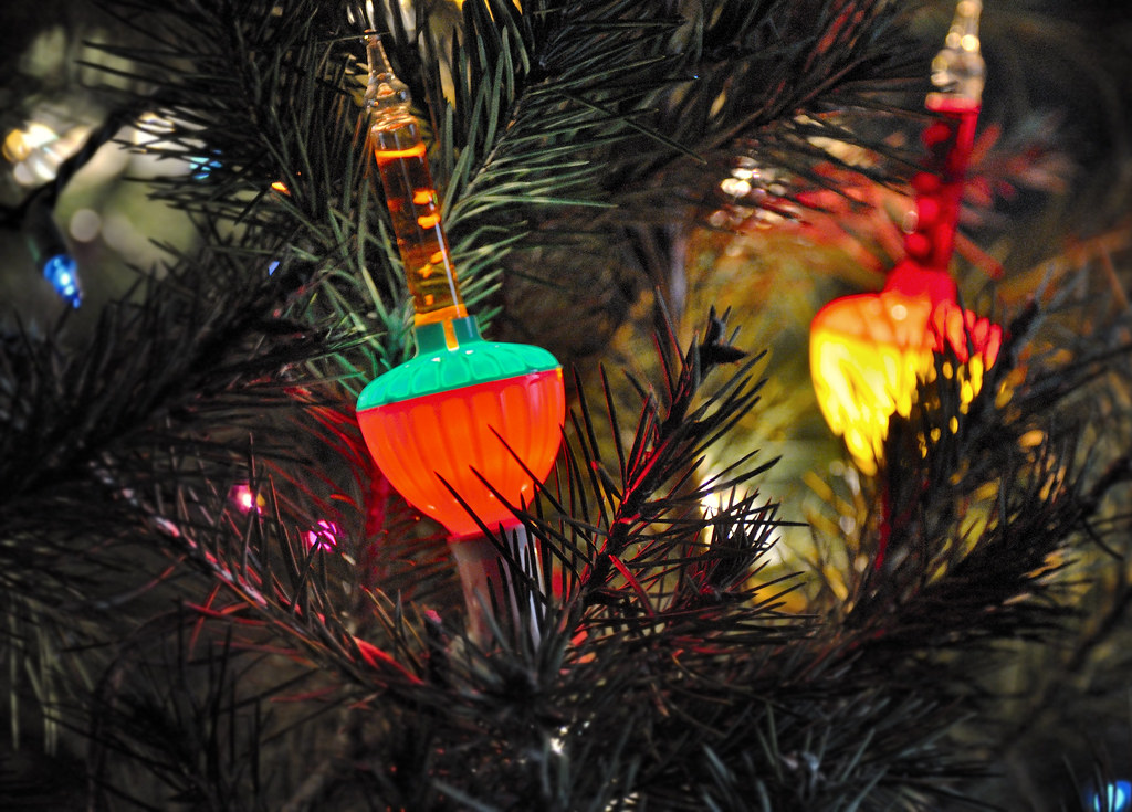 old fashioned bubble lights merry christmas all by babylon and beyond photography - Old Fashioned Christmas Tree Lights