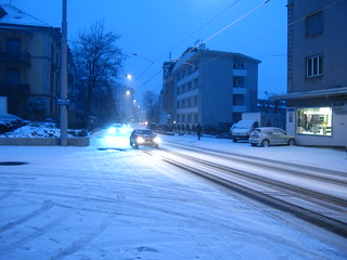 Snowing in Zurich | by Accidental Hedonist
