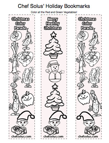 Holiday Bookmarks for Kids Free Coloring Pages Printouts Flickr