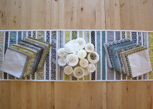 Hope Valley Table Runner & Napkins | by jessyroos