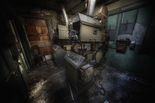projector room | by andre govia.