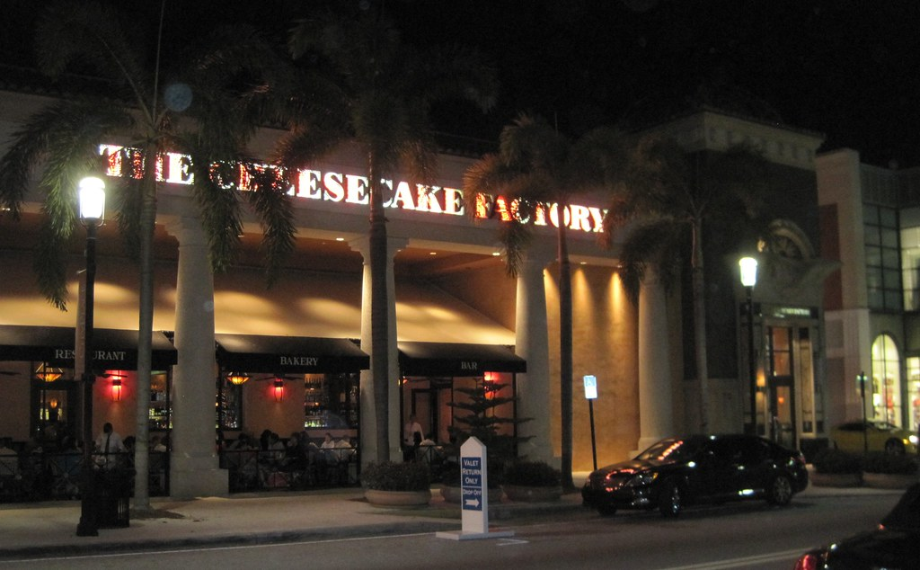 City Place West Palm Beach Florida Cheesecake Factory Dinn Flickr