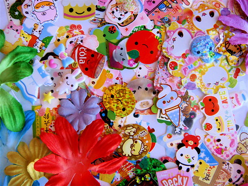 Sticker flakes from Brenda ♥ | by xiwang.love