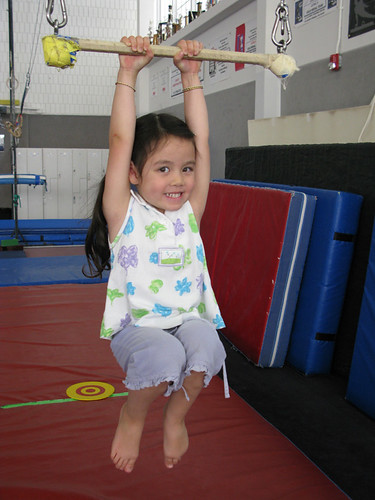 Child in gymnastics class | by City of Boulder
