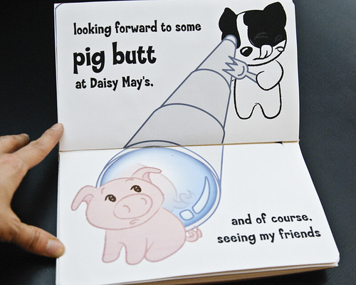 Sketchbook Project 2011: Pig Butt | by psychopooch