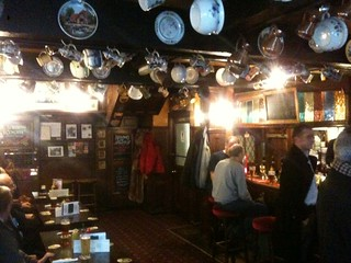 Hanging chamber pots in the Cheshire Cheese pub (est. 1538), thanks @jesus_john! | by benjilanyado