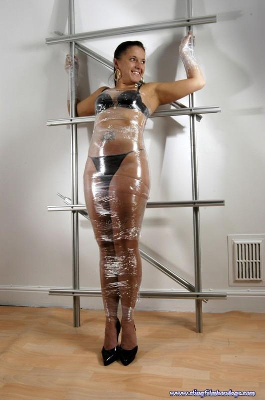 Girl Wrap bondage