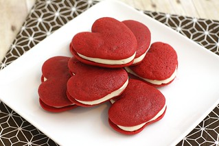 Red Velvet Whoopie Pies | by Tracey's Culinary Adventures