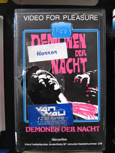 Demonen Der Nacht (VHS Box Art) | by Aeron Alfrey