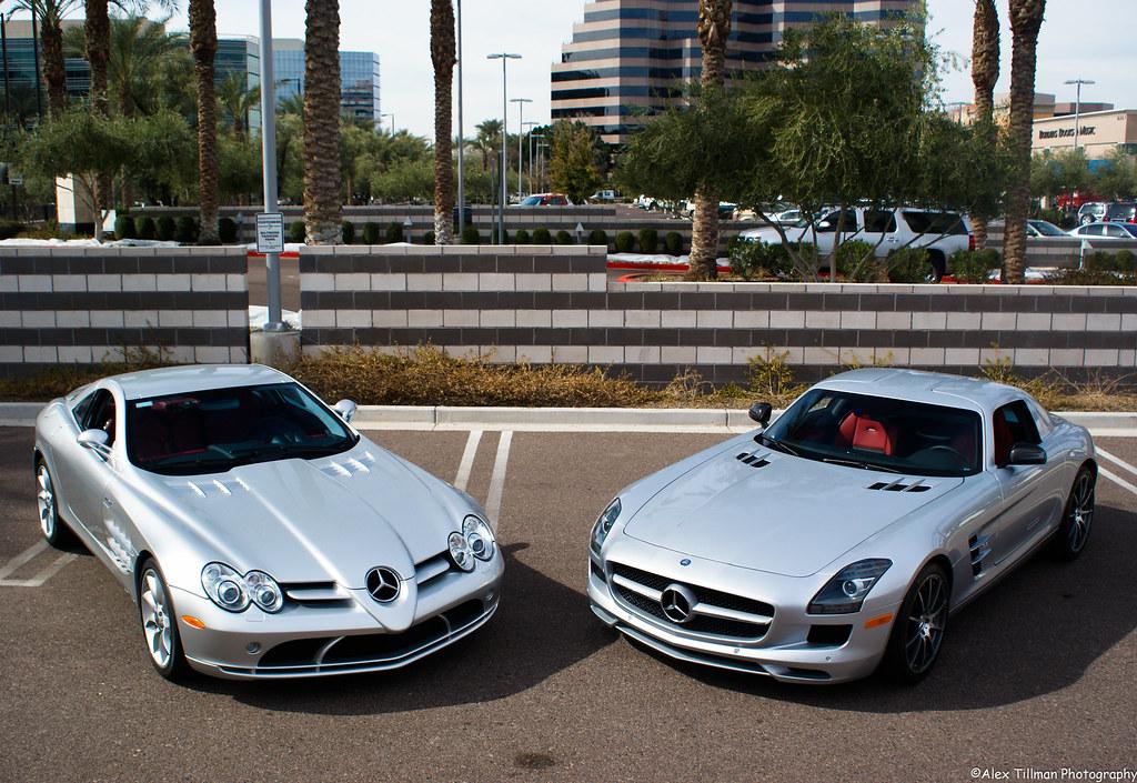 Mercedes-Benz SLR McLaren – SLS AMG Photoshoot | Alex Tillman | Flickr