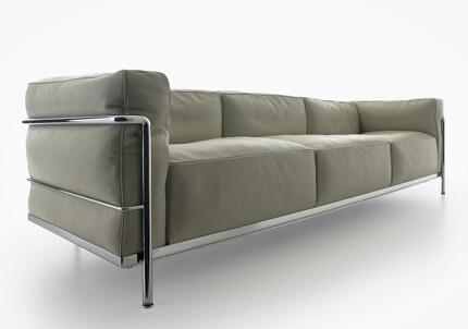 ... Shapeimage_7Projekt Bauhaus Möbel Le Corbusier LC3 Sofa | By  Projektbauhaus